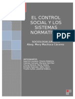 Control Social Sociologia Juridica