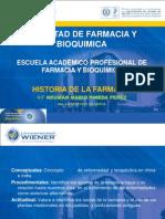 Historia de La Farmacia Clase- 03