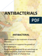 pharmacology - antibacterial