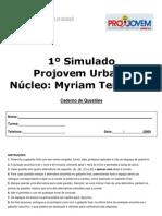 SIMULADO MYRIAM - CADERNO DE QUESTÕES
