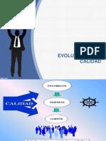 Evolucion de La Calidad