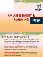 Knowledge management Maturity Model, KMMM