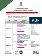 Próximas actividades del gobierno de proximidad en Kenney - Agenda