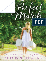 The Perfect Match by Kristan Higgins - Chapter Sampler