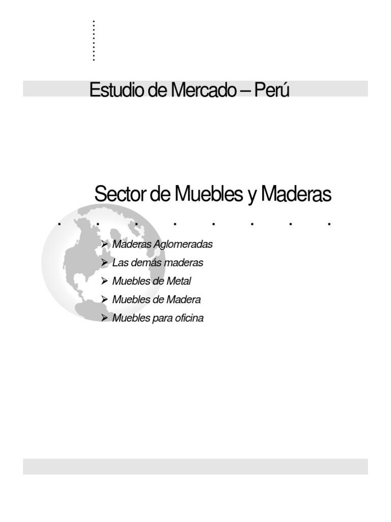 Sector de Muebles y Maderas Peru