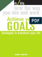 Achieve Your Goals-WORKLIFE