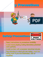 Safety Precaution in electrical wiring installation