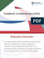 Sesion 5 - Establecer e Implementar El SGSI