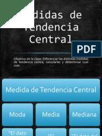 18 Clase 01-10 Medidas de Tendencia Central