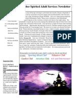 The October Newsletter