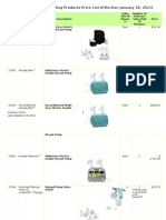 Ameda Price Schedule_001