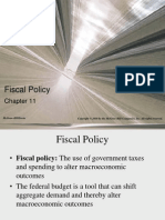 Chap011 Fiscal Policy