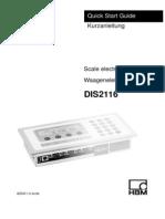 DIS2116 Manual