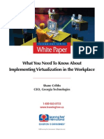 Implementing Virtualization in the Workplace