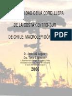 Biodiversidad de la Cordillera de la Costa centro-sur de Chile. Macrolepidópteros