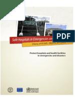 Safe Hospital Emergencies and Disaster