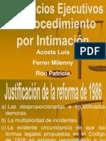 Exposicin Prof. Luis Acosta
