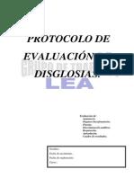 Protocolo de Evaluacion de Disglosias