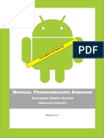 Manual Programacion Android SgoliverNet v3 (Muestra)