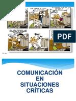 Comunicacion en Situaciones Críticas