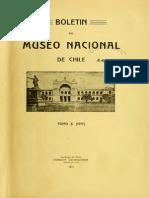 Boletín del Museo Nacional de Chile. T.X. 1917