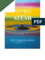 3 of Allah's Perfect Names.