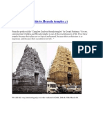 An Incomplete Guide to Hoysala Temples