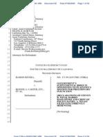 Govt Brief Re Seizure of Trademarks