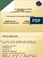 Final Ratio Analysis