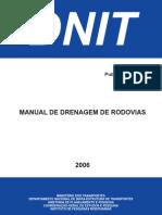 Manual de Drenagem de Rodovias