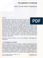 JAY, T. - Thepragmatics of swearing.pdf