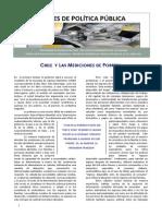 BPP. Chile y Las Mediciones de Pobreza. USACHjun12