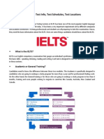 IELTS 101 - IELTS Test Details, Test Centers, Test Schedules Philippines