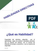 Unidad 1, Hab. Directivas