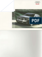 Manuale Istruzioni Audi A3 SportBack Year 2007