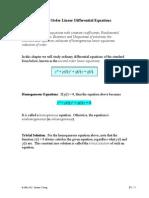 Notes-2nd Order ODE Pt1
