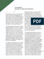 Ranciere - Broodthaers and Mallarme