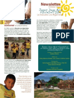 La Escuela Los Algarrobos Newsletter October 2013 Spanish