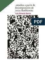 Dos estudios a partir de la descomposición de Marcus Rothkowitz (1)