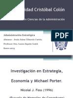 Presentacion Investigacion en Estrategia (Enero-2013)