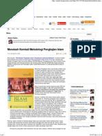 Menelaah Kembali Metodologi Pengkajian Islam