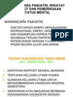 Wawancara-Psikiatri