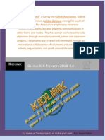 Kidlink K-8 Projects Announcement 2013-14
