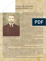 Discurso de Belisario Domínguez