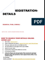 how to Register for voting, find name in voting list, election 2014- India
