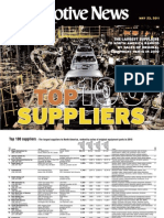 2011 Top 100 Suppliers of North America