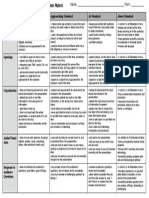 Presentation Rubric Social Studies