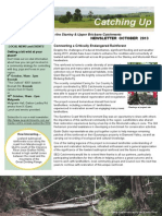 SEQ Catchments Catching Up Newsletter Upper Brisbane October 2013