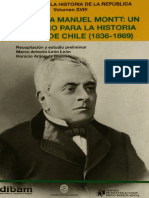 Cartas a Manuel Montt. Un Registro Para La Historia Social de Chile (1835-1869)