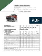 Proyecto Camioneta Toyota Hilux